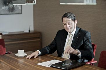 """Roland Heiniger """"Die Finanzkrise 2008 war für alle Marktteilnehmer eine lehrreiche Erfahrung."""""""