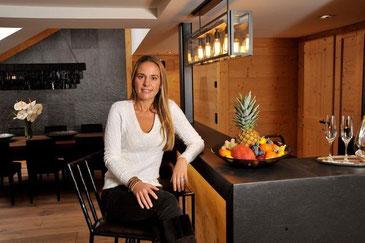 Dona Bertarelli fühlt sich in der Suite «My Gstaad Chalet» wohl.