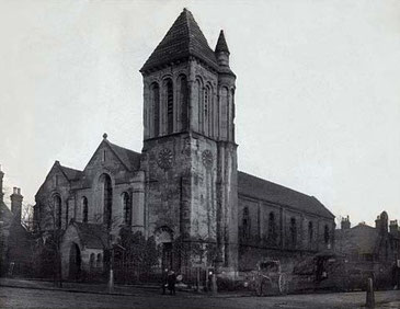 The first St Luke's built in 1842