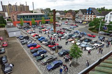 Die NOSW Niederrhein Classic startete erneut in Voerde auf dem Rathausplatz