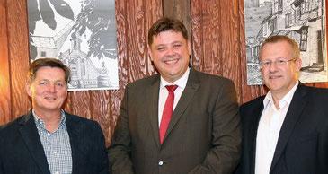 Von Links: Eckhard Pols, Jens Nacke und Alexander Blume