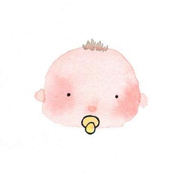 赤ちゃんの絵