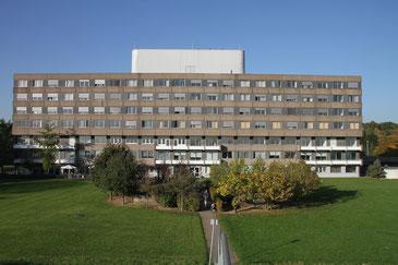 Die Helios Klinik in Duisburg unterhält auch die Rhein-Klinik. Foto: Heinz Pischke