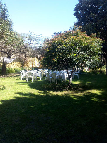 Unser Kirchgarten: Eine Oase mitten in Lissabon