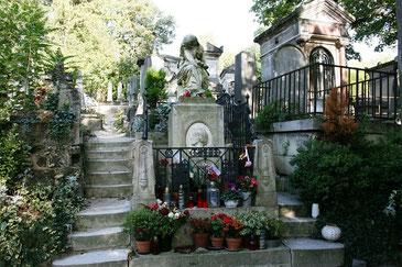 Friedhof Père Lachaise - Grab von Chopin