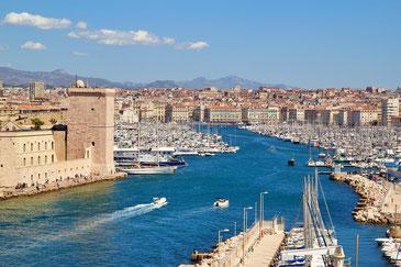 Hafen von Marseille