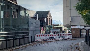 Bauarbeiten am Heinrich-König-Platz -  Foto: Pressestelle Stadt Gelsenkirchen