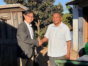 マダガスカルでBIO PAPAと呼ばれるバジルさん