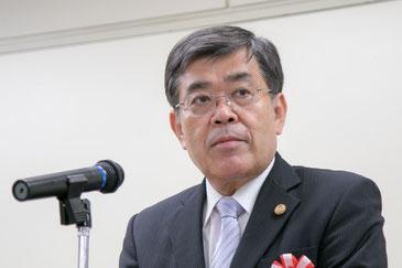 来賓の祝辞と表彰状の授与のためにご列席された今井敏林野庁長官