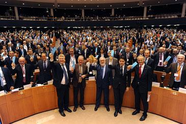 合流したCovenant of Mayorsの市長たち CC BY-NC-SA 2.0 Nathalie Nizette