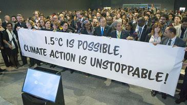 気候変動アクションは止まらない! UNclimatechange CC BY 2.0