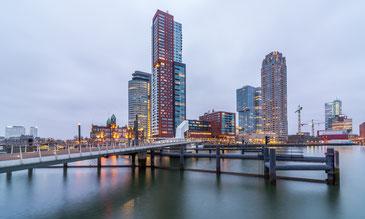 美しいロッテルダムの街並み。海抜ゼロメートル以下の土地がほとんどだ。 CC BY-NC 2.0 / Maciek Lulko