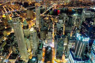 ニューヨークの夜景もグリーンパワーに! Kolitha de Silva CC BY 2.0