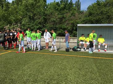 Landesliga B-Jugend Berlin: Tiergarten - SSC Teutonia