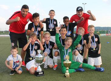 Der SV Wehen Wiesbaden triumphierte beim diesjährigen Champions-Cup.