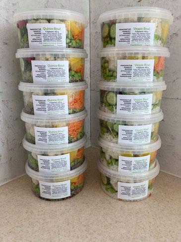 Quinoa Bowl und Veggie Bowl der Manufaktur Rommer