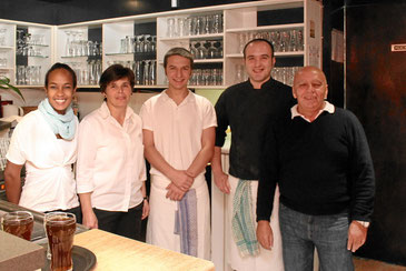 Service, Koch und Pizza-Bäcker mit Filippo Nicolosi