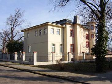 Heutige Ansicht der Villa.