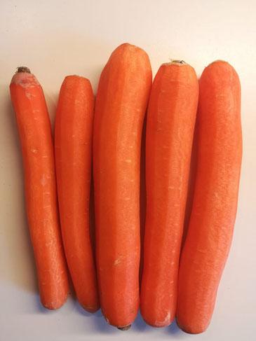 Individualität beim Gemüse
