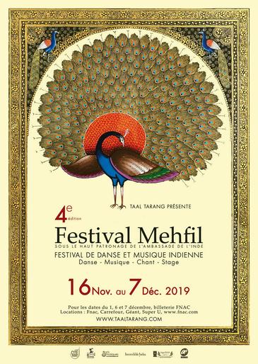 Poster Festival Mehfil 4ème édition 2019