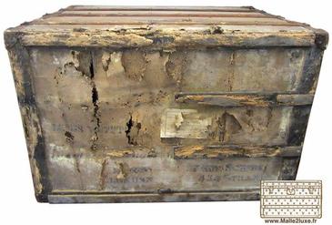 rotten wood Louis Vuitton trunk