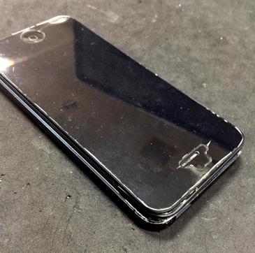 iPhone5 画面の剥がれ 液晶損傷