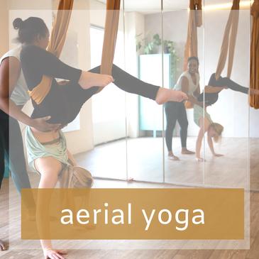 Workshop Aerial Yoga als uitje in Zoetermeer