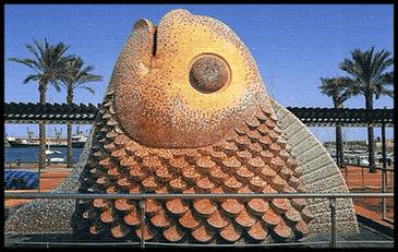 La Hembra del Mar  del pintor, escultor Ripollés de Castellón