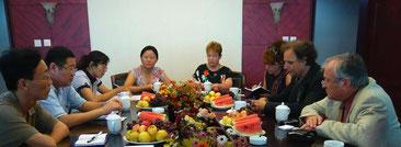 Offizieller Empfang der Behörden von Changli (Foto: Marxcello Weiss)