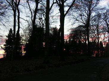 Heiligenberg am Abend