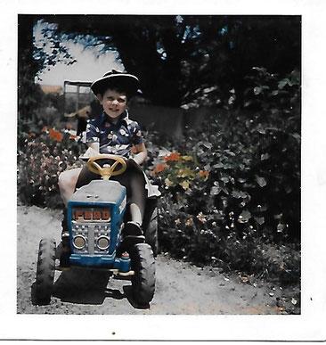 Philippê GUINOT agriculteur sur l'île d'Oléron