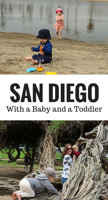 San Diego With a Baby and a Toddler. San Diego is a near-perfect family destination for travel with a baby and a toddler.  Here is why we recommend it. Read more at www.BabyCanTravel.com/Blog