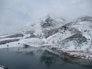 10月の旭岳