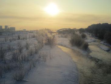 1月の旭川