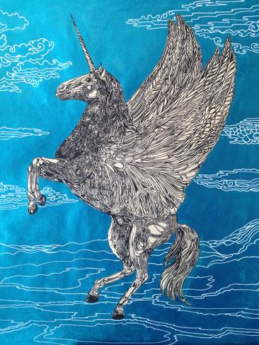 Einhorn Pegasus