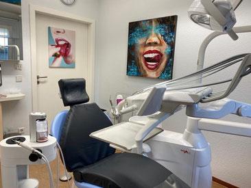 Zahnarzt Praxisraum in Berlin Marzahn in der Zahnarztpraxis am Eastgate Center