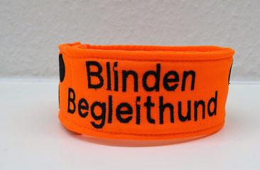 Halsband, Loop, Blinder Hund, Blindenhund, Halstuch, Blindenhalstuch, Blindenbegleithun