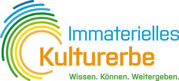 Logo: nationales immaterielles Kulturerbe