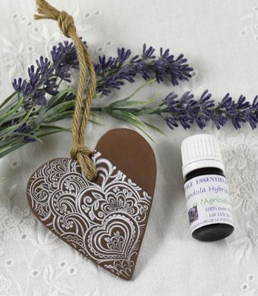 coeur ceramique diffuseur huile essentielles