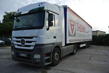 40 Tonnen LKW von THERMO & klimaplatte24