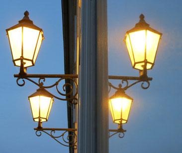 Lampen, Markt Neustrelitz