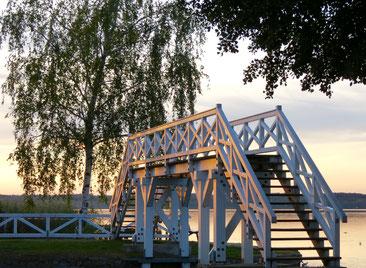 Weiße Brücke, Neustrelitz, Zierker See