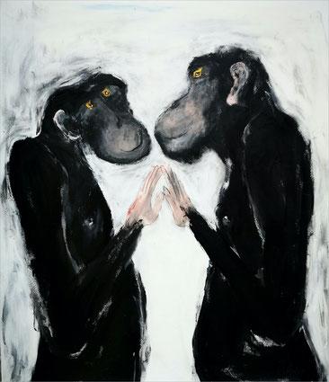 Christiane Holsten: Affenkunst V