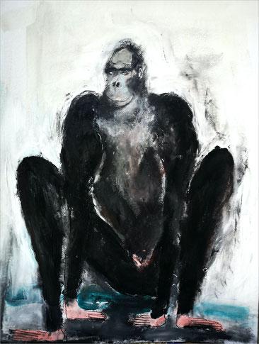 Christiane Holsten: Affenkunst III