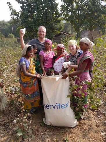 Servitex unterstützt und sponsort Baumwollsäcke - Fleischmann Mietwäsche