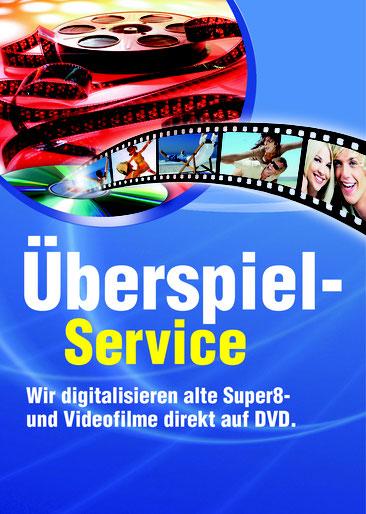 Überspiel-Service. Wir digitalisieren alte Super8- und Videofilme direkt auf DVD
