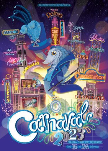 Cartel del Carnaval de Santa Cruz de Tenerife