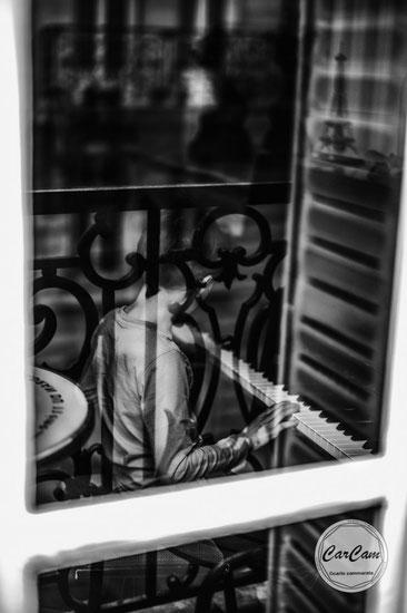 paris, guerre des étoiles, black and white, noir et blanc, art, street photography, CarCam