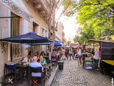Straßencafés in Buenos Aires