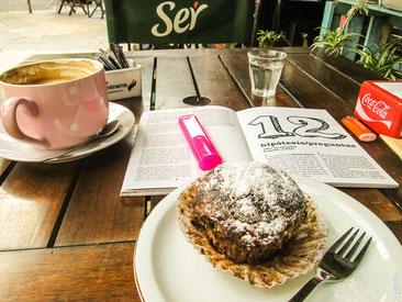 Straßencafé in Buenos Aires
